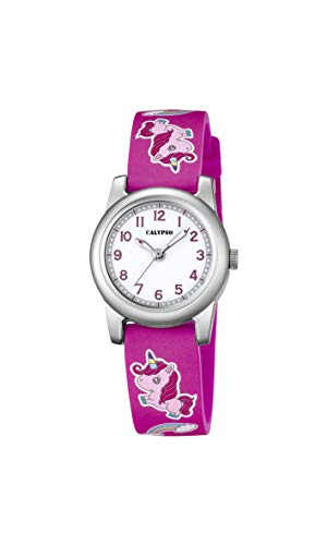 Calypso Reloj Analógico para Muchachas de Cuarzo con Correa en plástico K5713/B