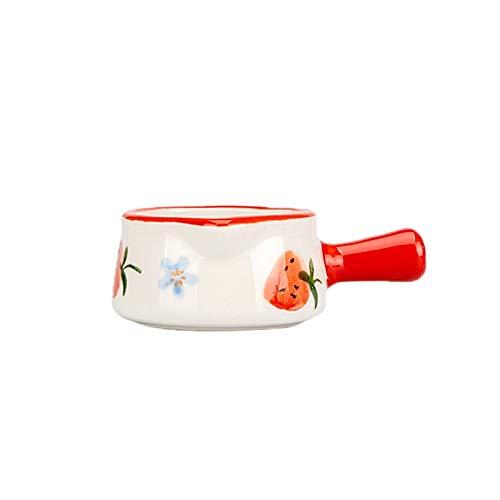 Lattiere Ceramica lanciatore a forma di campana a forma di campana con manico latte brocca di caffè set caffè kit crema multifunzionale lanciatore piccola tazza di latte 50ml / 1.69oz Salsiera