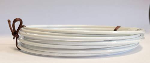 Drahtring Efco Lot de 10 Anneaux en métal pour décoration de Table à Langer ou Attrape-rêves Blanc 15 cm