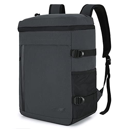TOURIT 保冷リュック 保冷バッグ 保冷バック 32缶収納可能 大容量クーラーバッグ 多機能リュック 買い物 旅行 お弁当 キャンピング アウトドア 通学 通勤 漏れ防止