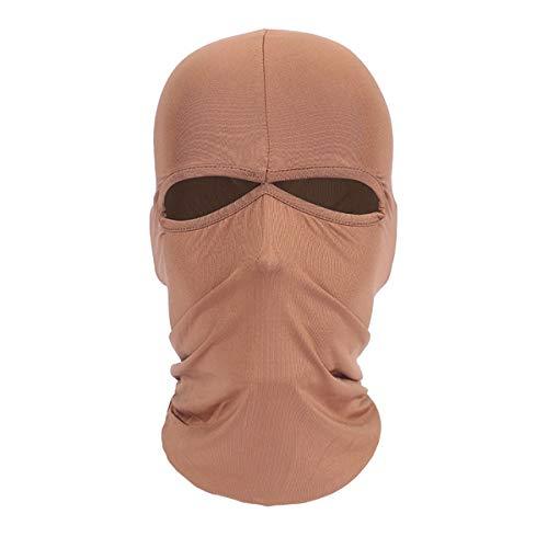 ECYC Lycra Skull Full Mask Balaclava Ski Bonnet d'hiver Bonnet Cap pour l'extérieur, Ski, Moto, Cyclisme, Vélo, Course à Pied