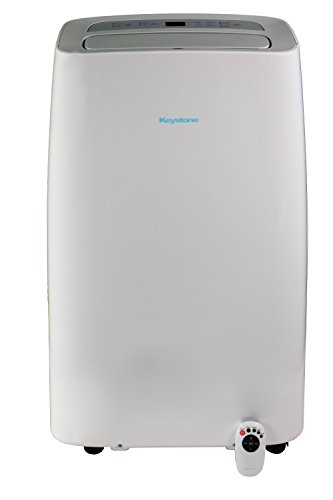 Keystone KSTAP12NA Portable Air Conditioner, Rooms up to 250-Sq. Ft