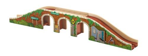 Mattel BDG65 Paisaje Parte y Accesorio de juguet ferroviario - Partes y Accesorios de Juguetes ferroviarios (Paisaje, 3 año(s), Multicolor, Madera)