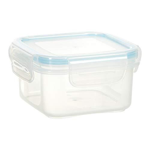 wenco Frischhaltedose, 300 ml, Mikrowellen-/Tiefkühlgeeignet, Safe-Box Quadrat Mini, 532617