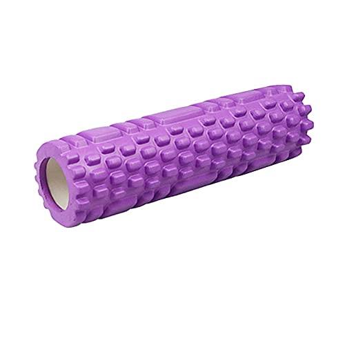 GYSEA Columna de Yoga Gimnasio Gimnasio Espuma Roller Yoga Ejercicio Trasero músculo Masaje Rodillo (Color : Beige)