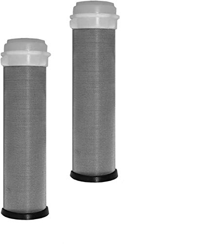 FERDOM FD179 Replacement, Stainless Steel Mesh/Filter 90 microns- Set of 2 pcs. for Ferdom, Pre-Filters; FD177, FD178, FD185, FD188. Diameter nom. 25mm, H 97mm. Also for Other Similar Pre-Filters.
