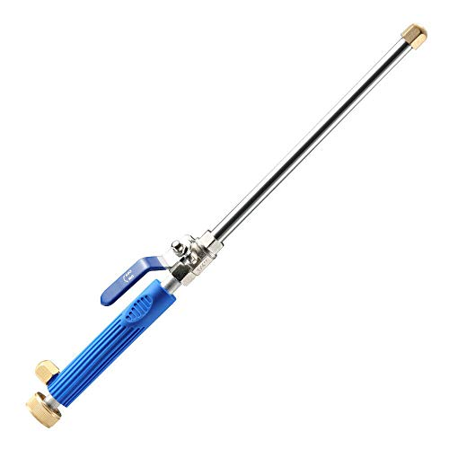 USA Premium Store Garden Hose High Pressure Spray Wand Attachment Nozzle Power Washer Deck Car
