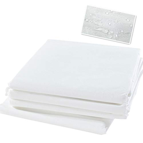 防水シーツ 使い捨て 幅80cm×長さ180cm ベッドシート ディスポシーツ 20枚入り エステサロン用 マッサージ用 (ホワイト)