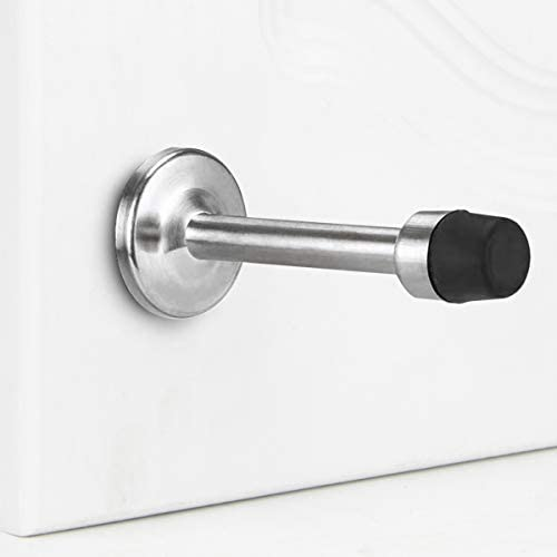 Door Stopper Limited time trial price 1Pack Stainless Steel In stock Wall Stop Prote Bumper