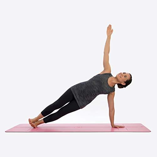 Liforme Tapis de Yoga - Le Tapis de Yoga Écologique et Antidérapant avec Un Système d'Alignement Unique et Original - Tapis De Yoga Biodegradable
