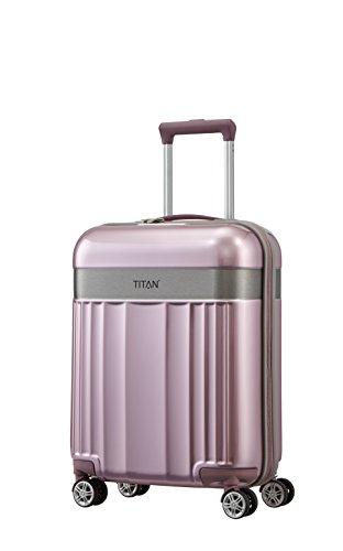 TITAN 4-Rad Handgepäck Koffer mit TSA Schloss, erfüllt IATA Bordgepäckmaß, Gepäck Serie...