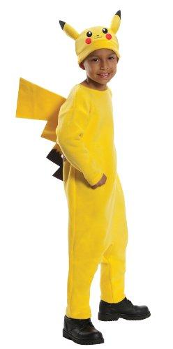 Rubie's Child's Pokemon Deluxe Pikachu Costume, X-Small