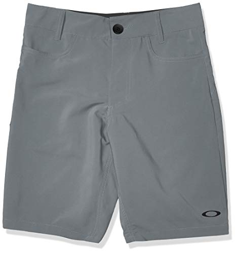Oakley Men's Base Line Hybrid 21-Inch Shorts, Steel Grey, 30