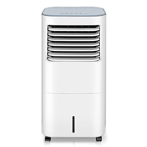 YJHH Enfriador Climatizador Portátil Air, Climatizador Evaporativo Frio, 3 Ajustable Velocidades 4 Ruedas Silencioso Hogares, Oficinas, Picnics Al Aire Libre Etc
