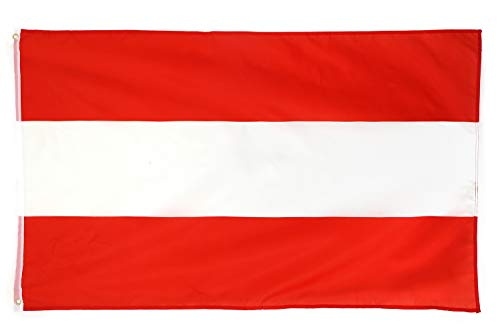 Star Cluster 90 x 150 cm Österreich Flagge/Österreich Fahne/Fahne Republik Österreich/Fanartikel/Austria National Flag (at 90 x 150 cm)