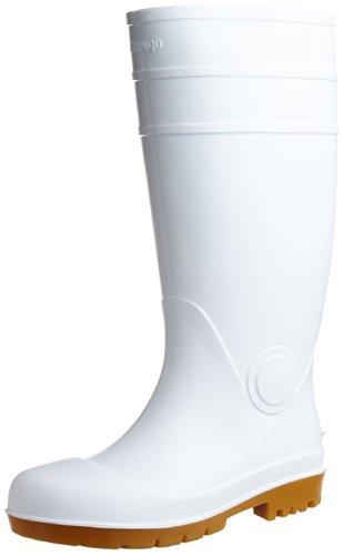 [マルゴ] 安全長靴 鋼製先芯 耐油 安全プロハークス 870 WH 23.0 cm