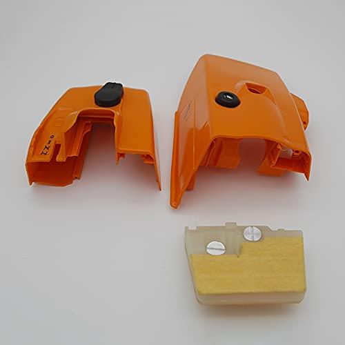 Filtro de aire tapa cubierta cilindro cubierta ajuste para STIHL MS240 MS260 024 026 jardín motosierra piezas de repuesto