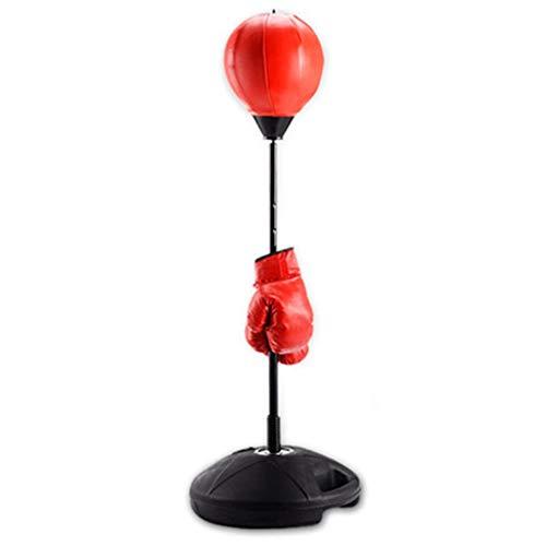 Boxe Piattaforma Punchingball Sacchetto di Sabbia per Il Fitness della Famiglia della Palla A velocità Verticale Sacchetto di Sabbia per Il Bambino Tu