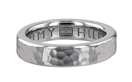 Tommy Hilfiger 2780096E Damen Ring Edelstahl Silber 18,5 mm Größe 58