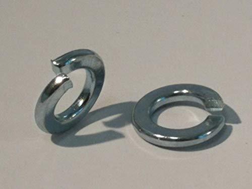 25 Stück Federringe DIN 127 Form A, Stahl galvanisch verzinkt (Verzinkter Stahl, M8)