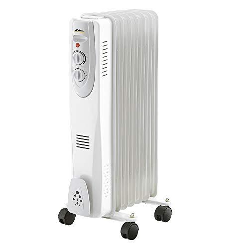 Adir Radiador Calentador Aceite de 9 Elementos a 3 Niveles de Temperatura Mod. AD4801