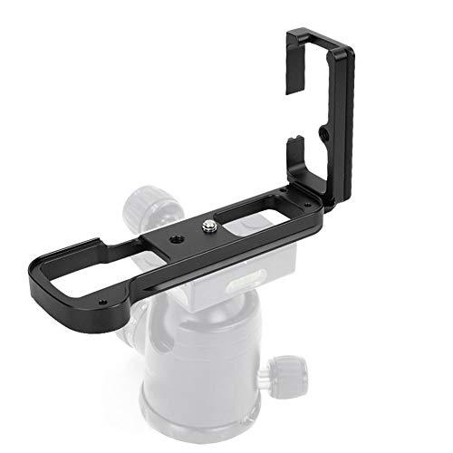 Mugast QR L-Kamera-Halterung aus Aluminiumlegierung,Langlebige Kamerahalterung Mit Vertikalem Griff und 1/4-Schraubenloch,Integriertes,Ausgehöhltes Schnellverschluss-Design,für FUJIFILM X-T3-Kameras