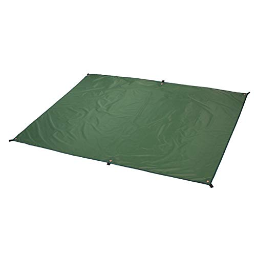 Zeltplane, Ahsado Camping Zelt Tarp, Outdoor Plane/Zeltmatte/Zeltunterlage, wasserdichte Picknickdecke mit Tragetasche (L:240*220CM)