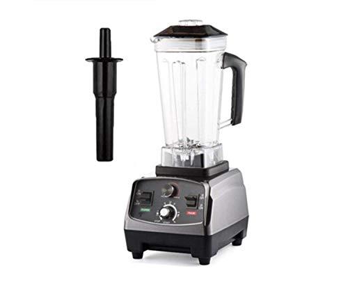 YJXD 2200W Heavy Duty Commercial Mixer Blender Minuterie Automatique De Qualité Juicer Fruits Robot Glace Smoothies Pot BPA 2L (Color : Titanium Grey)