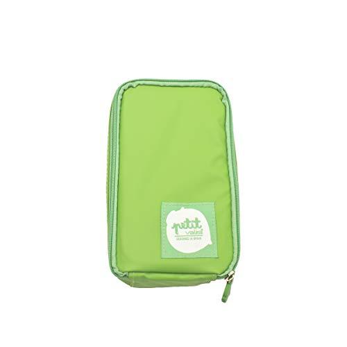 Valira | Bocata Petit | Bolsa Porta Alimentos Infantil, Color Verde, 13.5 X 4.5 X 24