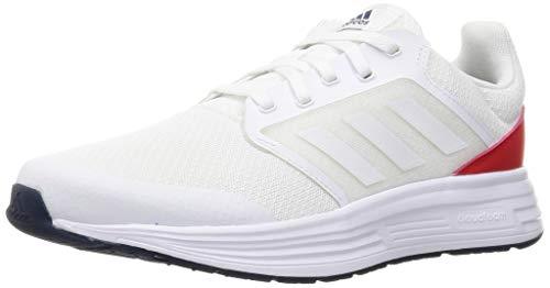 adidas Galaxy 5, Zapatillas para Correr Hombre, FTWR White FTWR White Crew Navy, 46 2/3 EU