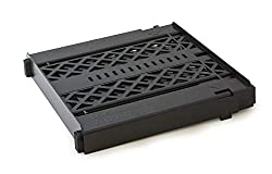 cheap LockerMate Adjust-A-Shelf Locker Shelf, Easy to Use, Expanded to Fit in Locker, Black