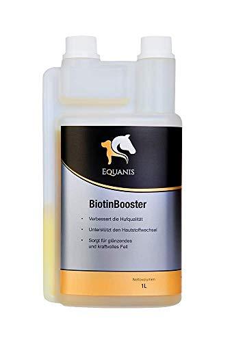 Equanis BiotinBooster - Biotina líquida y zinc para ayudar al metabolismo de la piel, el pelaje y los callos