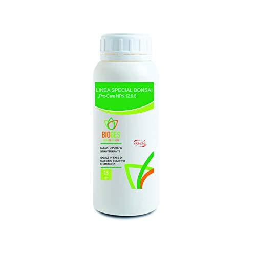 PRO-Care NPK 12.6.6 da 0,5 LT Bonsai Concime Liquido NPK ad Alto Titolo di Azoto, Ideale per la ripresa vegetativa