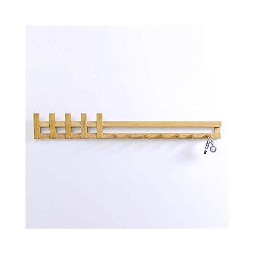 Sleutelhaken van eikenhout voor wand, deur, creatief rek achter, wandhaken, ingang, kledinghaken (kleur: 2#)