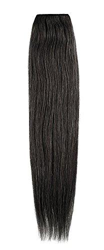 American Dream de qualité Platinum 100% cheveux humains Extensions capillaires 50,8 cm couleur 1 – Noir de Jais