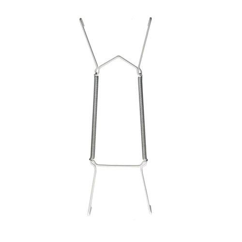 Unbekannt 6 Stück Tellerhalter/Telleraufhänger/Tellerspirale für Teller Ø 19-28 cm