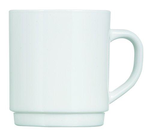 Dajar beker 29 cl Luminarc, glas, wit, 7,9 cm