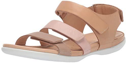 ECCO Flash, Sandali con Cinturino alla Caviglia Donna, (Dune 51433), 36 EU