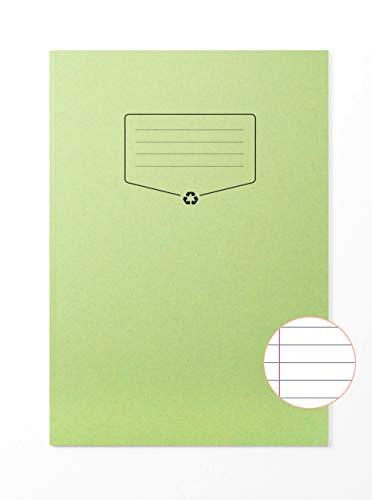 Silvine Libreta de ejercicios reciclada (A4, 64 páginas), color verde