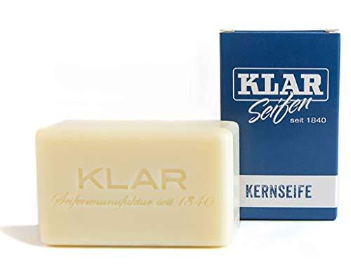 Klar's Kernseife 100 gr. Palmölfrei - besonders für Allergiker geeignet - Kultmarke Klar Deutschland Heidelberg seit 1840
