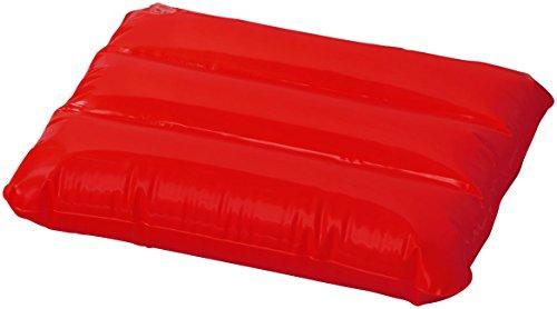 sin4sey 2er Set Aufblasbares Reisekissen Strandkissen Schwimmkissen (rot)