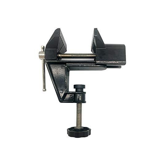 Sourcemall Mini tornillo de banco pequeño abrazadera de mesa Hobby Herramienta de reparación de manualidades (rango de sujeción: 0-2 pulgadas)
