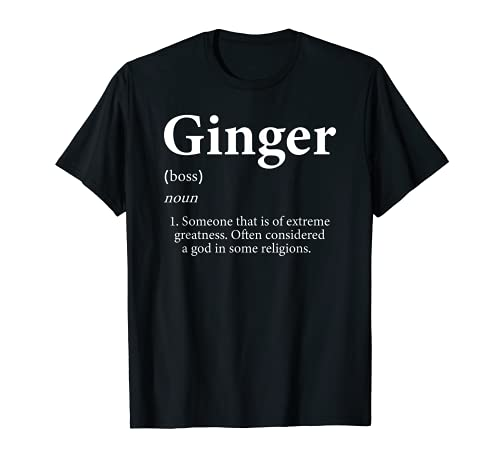 Ginger Shirt Definition Personalized Name Gift Sh