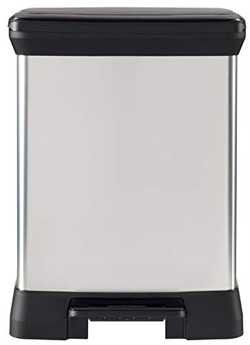 CURVER 203279 - Producto de almacenaje para la Cocina, 30L, Color Metal