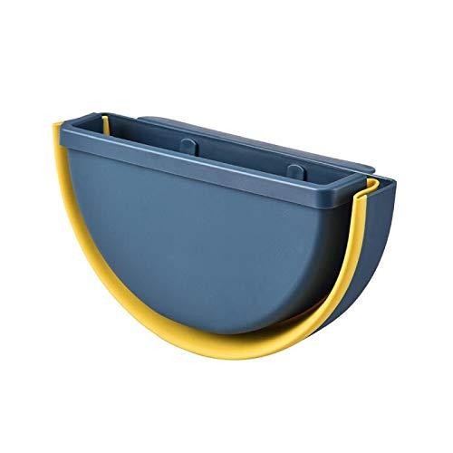 FMM 01 Abfalleimer zum Aufhängen, für Schranktür, Toilette, Abfallaufbewahrung, Wandmontage, zusammenklappbar, niedliches Badezimmerkörbe, Reinigungswerkzeug