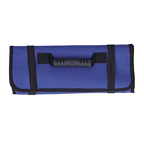Gaeirt Bolsa de Herramientas para electricistas, Bolsas de Almacenamiento Diseño multibolsillo para Bolsa de Herramientas para alicates(Blue)