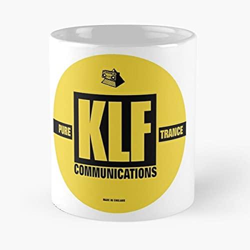 Générique Timelords Kopyright Front KLF Drummond The of Cauty Mu Jamms Justified Antiguents Liberation - Taza de café de 11 oz
