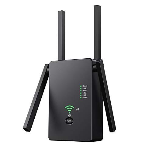 El extensor WiFi AC1200 cubre hasta 3000 pies cuadrados y 25 dispositivos...