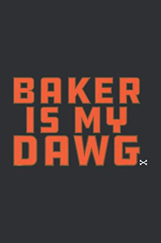 Baker Is My Dawg (Gratitude Journal): Funny Gifts For Bakers, Gratitude Journal For Kids Daily Prompts And Questions