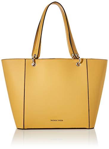 MARCO TOZZI Damen 2-2-61024-24 Handgelenkstasche, Gelb (Yellow), 15x26x42 cm